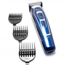 Аккумуляторная машинка для стрижки волос Gemei GM-6115 Синий