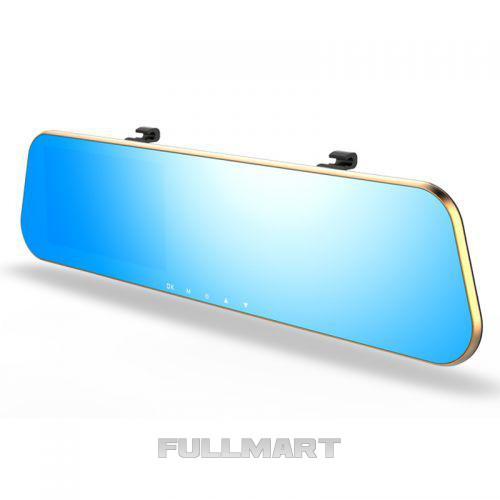 Зеркало заднего вида с регистратором на 2 камеры DVR DV460 (45168)