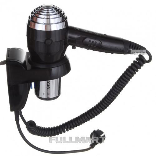 Фен A-PLUS HD-0085 Черный / Серебристый (hub_MpgF18555)