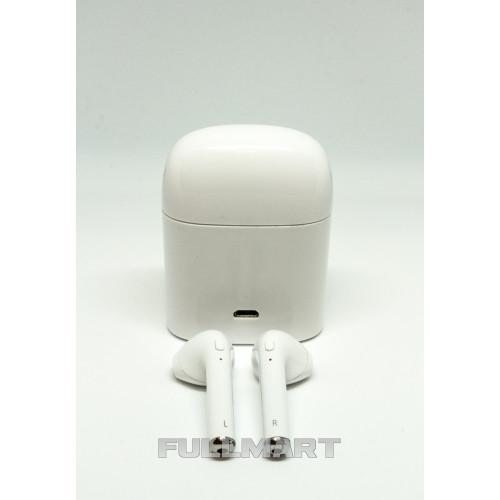 Беспроводные Bluetooth Наушники HBQ I7 Headset Power Bank White