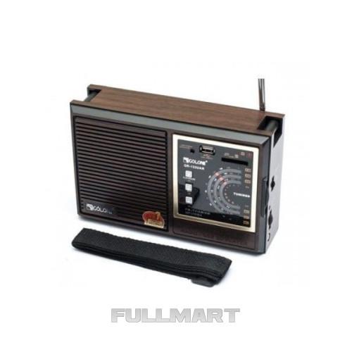 Радиоприемник GOLON RX-9933UAR Коричневый (46377/1)